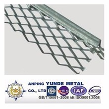 Galvanized Metal Internal Wall Corner Protection Bead/Expanded metal rib lath ,Angle Bead,corner beads