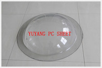 colored uv protection 100% GE lexan/bayer/ solid polycarbonate sheet, polycarbonate sheet skylight dome