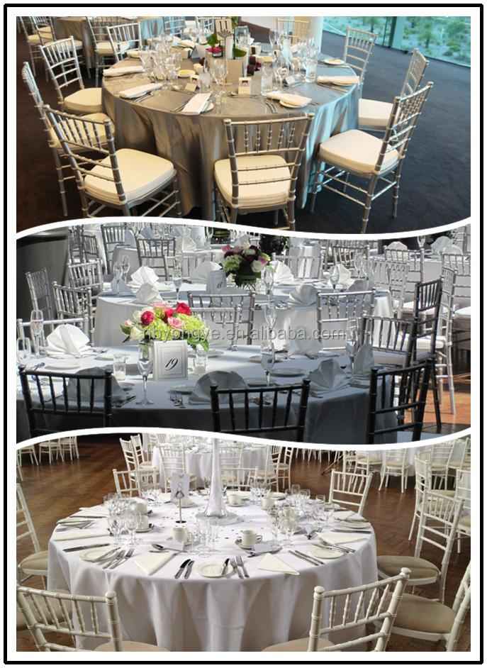 Atacado acolchoado cadeira dobrável resina PP resina de Casamento Branco Cadeira dobrável