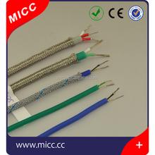 k type silicone/fiberglass thermocouple wire/silicon wire