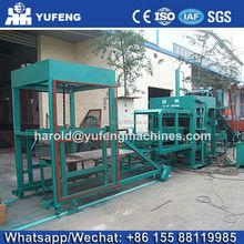 DIRECT FACTORY QT4-15 colorful pavement brick machine