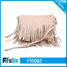 2014 lady fashion bag fringe tassel bag/tassel shoulder bag/tassel bag