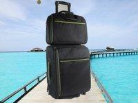 Leisure 2 Pieces Set Trolley Luggage Bag