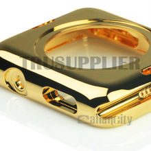 High quality gold for apple watch housing made from stainless steel can 100% fit in