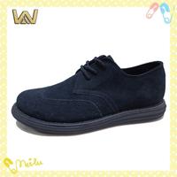 2015 Deep Blue Suede Men Wingtips Casual Shoes