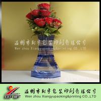 Plastic Foldable Flower Vase For Home Decoration