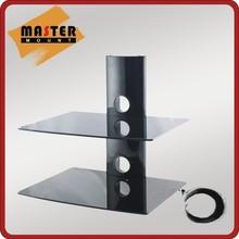 Aluminum 2 layers Set Top Box TV Mount DVD Wall Bracket