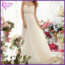 Hot selling good quality fashion white bridal dresses Fastest delivery