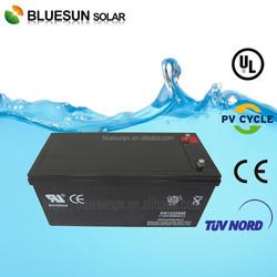 1kw-10kw Solar system used 12v 200ah agm/gel best gel cell battery