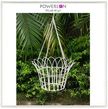 2015 vintage metal hanging flower pot stand