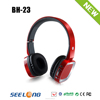 2015 hot selling wireless headphone with memory card