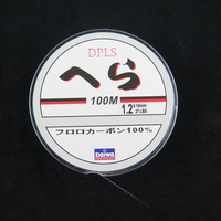 High Quality Available 100M Fly Fishing Line 0.1-0.5mm Daiwa Nylon Line High Strength Fiber Fluorocarbon Nylon Braid Line