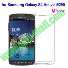Mirror Screen Protector for Samsung Galaxy S4 Active i9295 (Clear/Frosted/Mirror/HD/Diamond,etc)