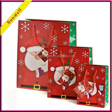 2015 latest gift paper bag packaging bag christma gift bag