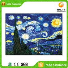 Abstract Landscape Painting Crystal Plastic Diamond Wall Adornment Art