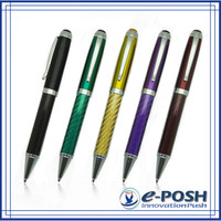 Racing car logo oem carbon fiber business calligraphy gift metal parker refill luxury ball pen