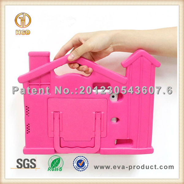 drop-proof EVA house design custom case for tablet ipad mini for kids