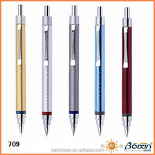 Promotional ballpoint pen metal ball pen retractable - 709