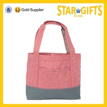 Top Selling Products 2015 High Quality Cotton Canvas Diaper Bag