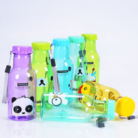 Disposable plastic bottle drinking bottle disposable juice bottle