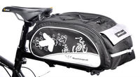 new design durable bicycle rear bag