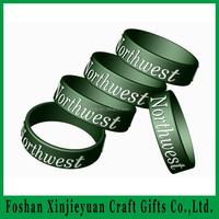 Silicone Bracelets/Wristbands/Embossed/Finger Bracelets/Silly Bands, Debossed Color Filling