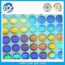 wholesale Custom 3D laser hologram Sticker