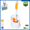 Mr.SIGA 2015 long handle TPR Toilet Cleaning Brush