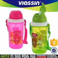 A072 500ml bpa free plastic drinking water bottle wholesale