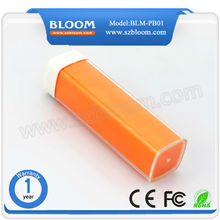 Best selling rechargeable mobile wholesale power bank 2600mah