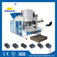 latest technology DMYF-12A mobile concrete block production