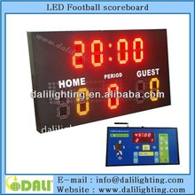 New digit design wireless led football scoreboard display digital