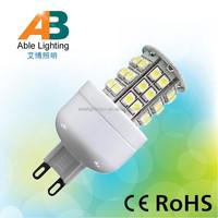 high brightness Warm White/Cool White 24 volt 3w plc g9 led lamps