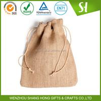 custom logo print wholesale printed jute bag/jute bag cocoa beans