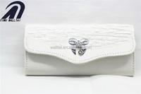 2014 nylon wrinkle fashion designer clutch evening bag