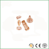 Qualified mass production Brass mass production cnc machining parts/cnc milling machined parts for coffee machines