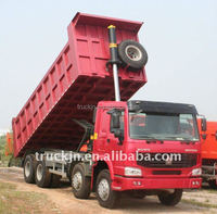 truck dump hinge/wheel rim/hydraulic drive axles/tracked dumperSINOTRUK HOWO 8x4 Tipper LHD ZZ3317N3567N1