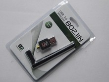 Mini USB WiFi 150Mbps Wireless Adapter 150M Computer LAN Card 802.11n/g/b with Network Card Antenna