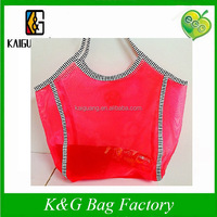 fashion women red bags, beach handbags,high capacity tote