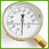 Hot sale price of bourdon tube oil pressure gauge