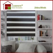 beatiful zebra curtains/day and night window blinds