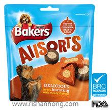Pet food bag for dog