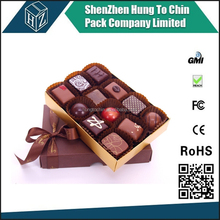 Hungtochin Pack direct manufacturer custom cardboard chocolate boxes for party