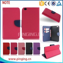 Wholesale mobile Phone Accessory Flip Leather Case for xiaomi NOTE, cover case for xiaomi NOTE