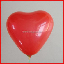 Helium gas available red heart balloon/round balloon deliver in one week
