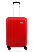 2015 New Arrival Girls ABS PC Hard Shell Wheeled Cabin Travel Luggage Set