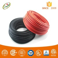 Double insulated 4mm solar cable for sale with TUV and UL approved
