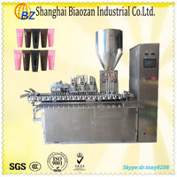 80-100 per min cosmetic filling packing machine for cream