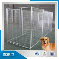 Good Supplier Large Galvanized Dog Kennel Of Metal