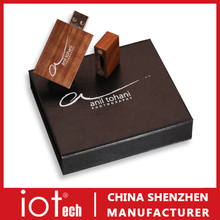 Hot Selling Marketing Gift Cheap Wooden USB Flash Drive in China
